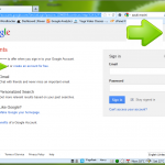 The Google Account Login Screen