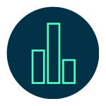 icon of a marketing analytics report